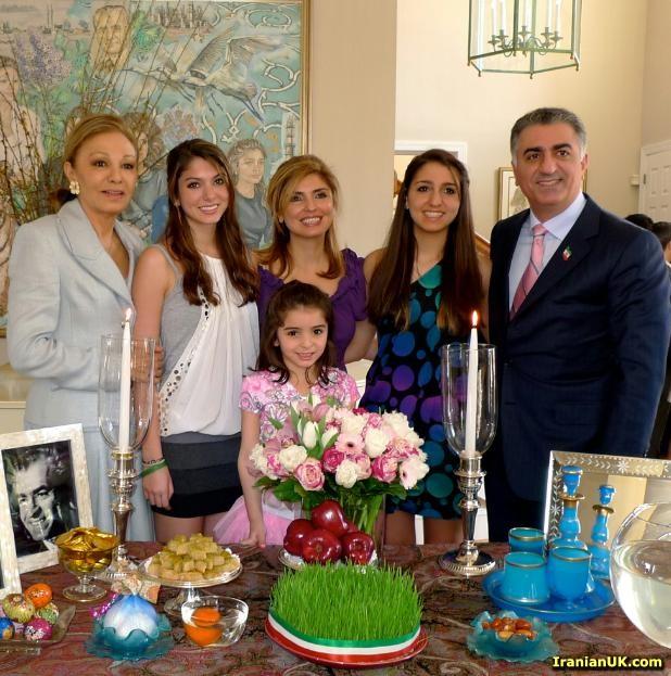 تصاویری از عید نوروز خانواده پهلوی