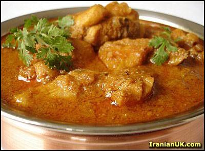 چیکن ماسالا ( غذایی هندی )