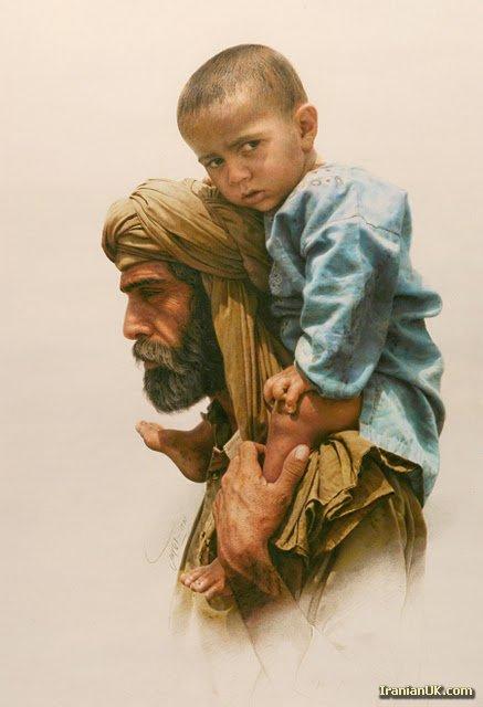 نقاشی های ایمان مالکی