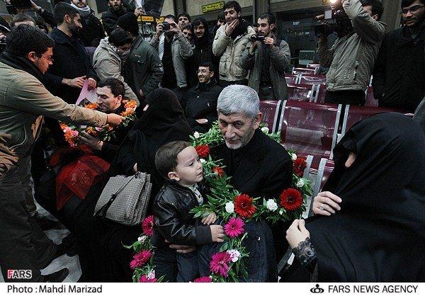 بازگشت کارکنان سفارت ایران در لندن به تهران 2