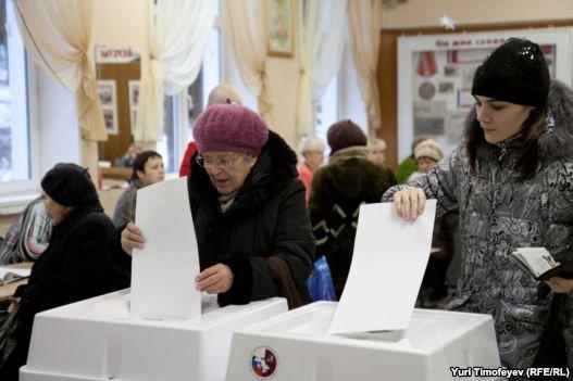انتخابات سرنوشت ساز پارلمانی در روسیه آغاز شد