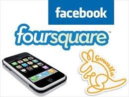 فیس بوک، Gowalla را خرید