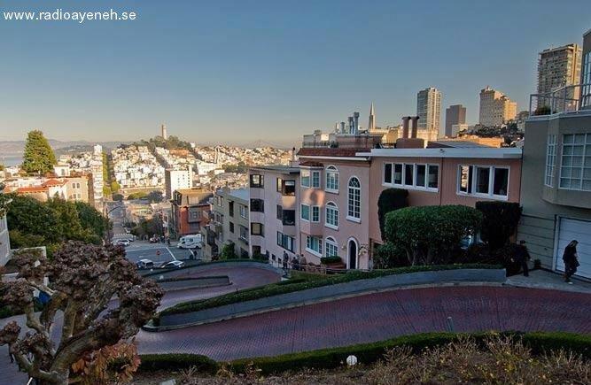 پر پیچ و خم ترین خیابان دنیا