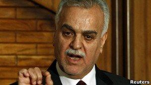 حکم جلب معاون سنی رئیس جمهوری عراق صادر شد