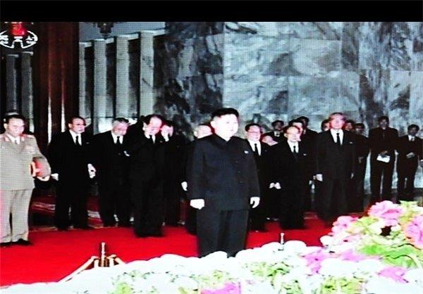 جسد رهبر کره شمالی- عکس