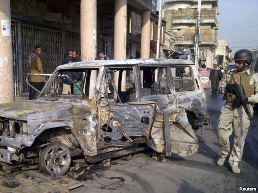 ۱۰ انفجار پیاپی پایتخت عراق را به لرزه در آورد