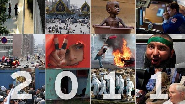 گزینگویههای ۲۰۱۱: از کشتن بن لادن تا گزینه نظامی علیه ایران