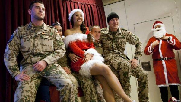 کریسمس سربازان ناتو در افغانستان