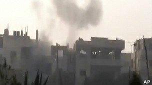 تشدید خشونت در سوریه در آستانه ورود ناظران اتحادیه عرب