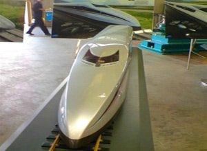 آزمایش قطاری در چین با سرعت 500 کیلومتر بر ساعت