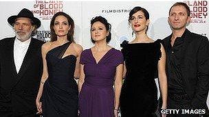 اولین ساخته آنجلینا جولی در سارایوو به نمایش درآمد