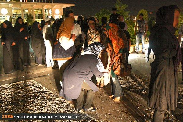 گشت ارشاد در کنسرت برج میلاد و دستگیری لاله اسکندری