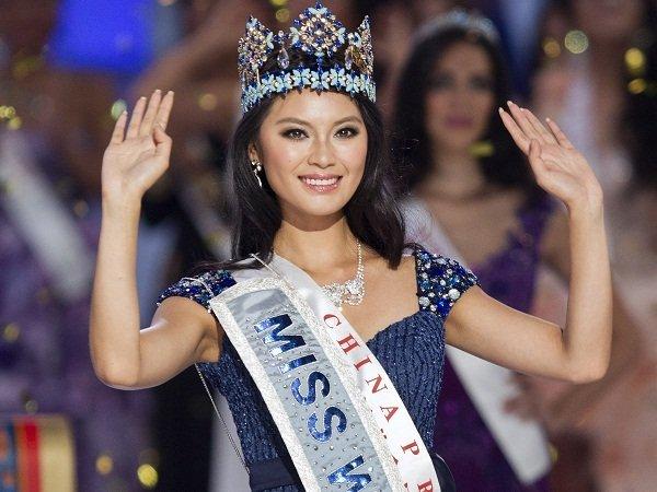 دختر ۲۳ ساله چینی ملکه زیبایی جهان شد