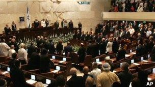 پارلمان اسرائیل به انحلال خود رای داد