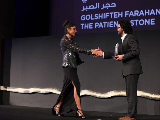 عکسهای نیکی کریمی در فستیوال فیلم ابوظبی