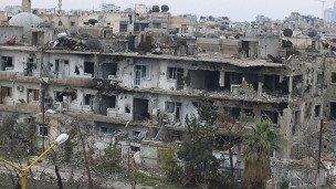 'حمله هواپیماهای جنگی سوریه' به اردوگاه پناهندگان فلسطینی در دمشق