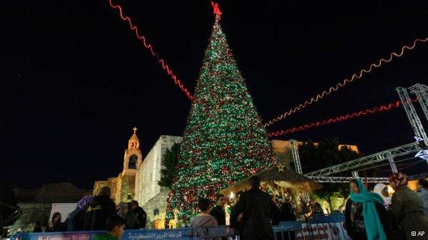 پیام صلح کریسمس در سرزمین موعود