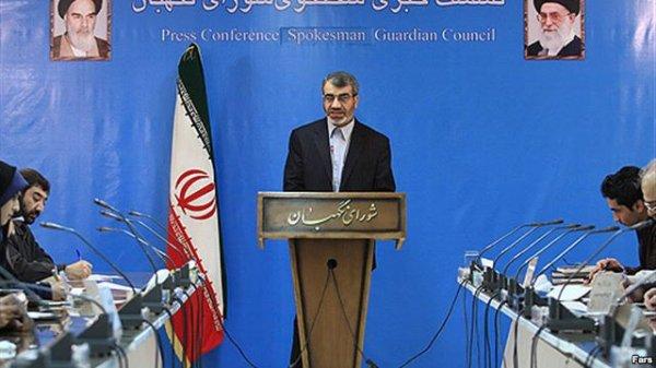 اظهارات سخنگوی شورای نگهبان درباره صلاحیت موسوی و کروبی