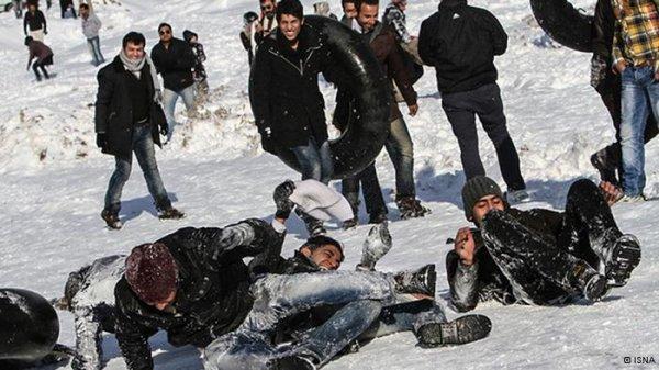 زمستان شاد در ایران