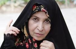 مرخصی ۱۵ دقیقهای زهرا رهنورد به خاطر درگذشت پدرش