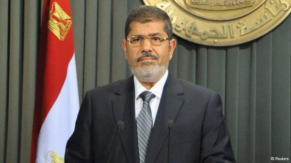 سخنان آشتیجویانه محمد مرسی در مجلس مصر