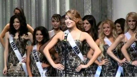 گلسا سرابی دختر شایسته ایران در مسابقات ملکه جهان 2013