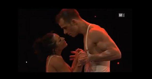 یکی از زیباترین رقص های عاشقانه دو نفره