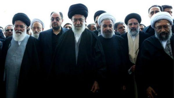Risultati immagini per رئیسی روحانی خامنه ای